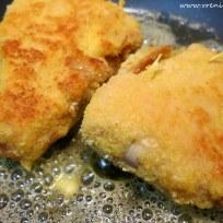 Gorgonzola-Parmaschinken Cordon Bleu