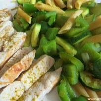 Putenbrustfilet mit Curry-Gemüse