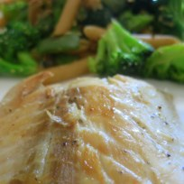 Lachs mit Broccoli-Penne